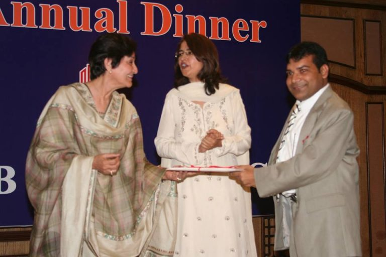 receiving certificate of recognition 2008