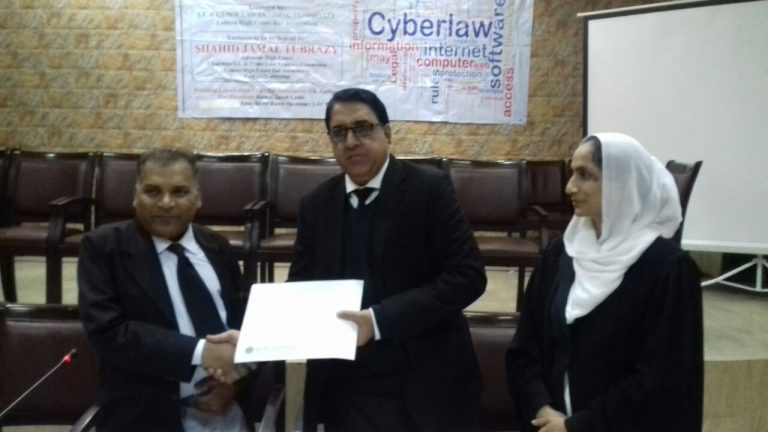 receiving certificate of recognition 2015