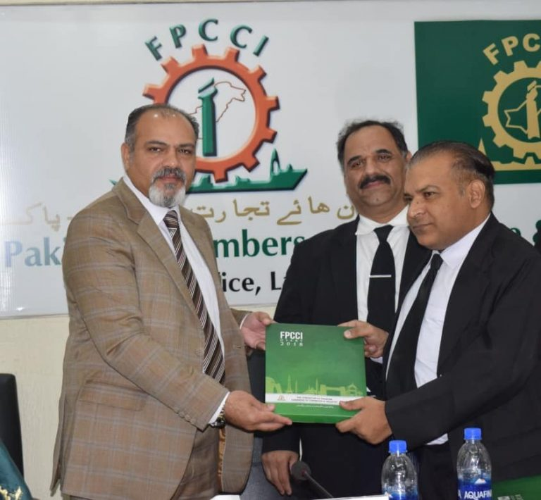 receiving certificate of recognition 2018 at fccp